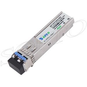 3G 1310nm 2km SM DDM Video SFP Optic Tranceiver Module