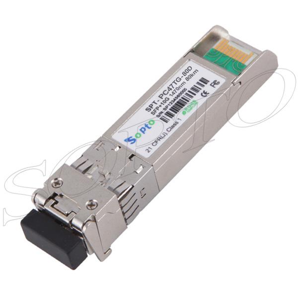 10G 1260~1620nm 80km CWDM SFP+ Transceiver